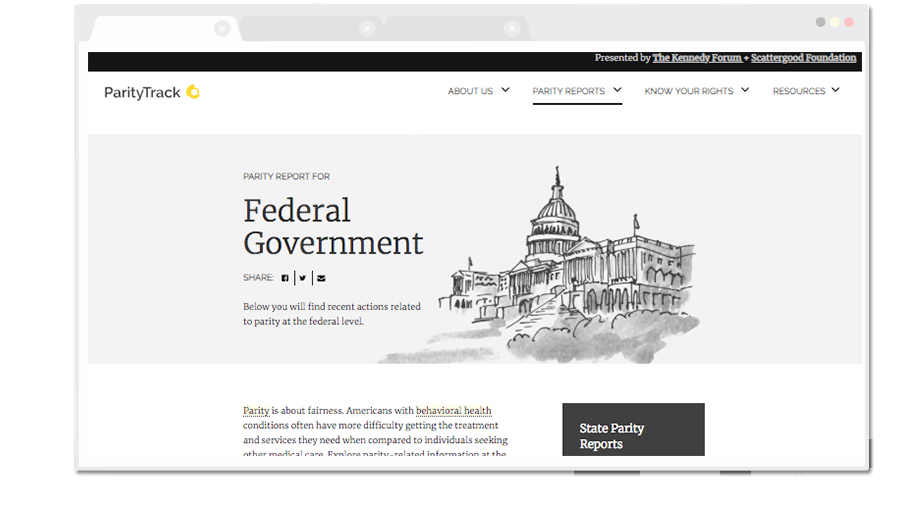 ParityTrack Federal Legislation